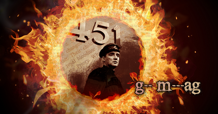 fahrenheit 451s guy montag a hero The first official trailer for fahrenheit 451 — like the career of its star  panther  star as guy montag, a fireman whose job it is to burn books.