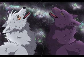 Friends are like stars by OokamiKuna