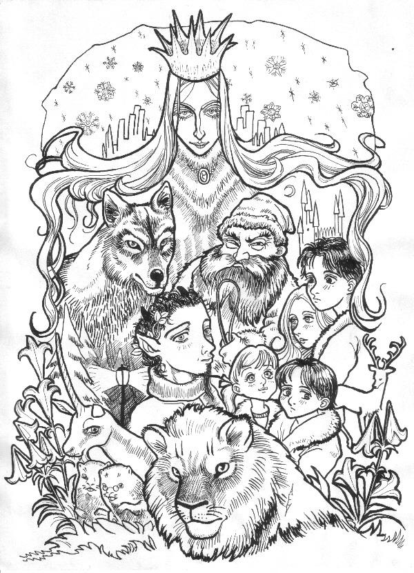 lion witch and wardrobe by littlecrow on deviantart