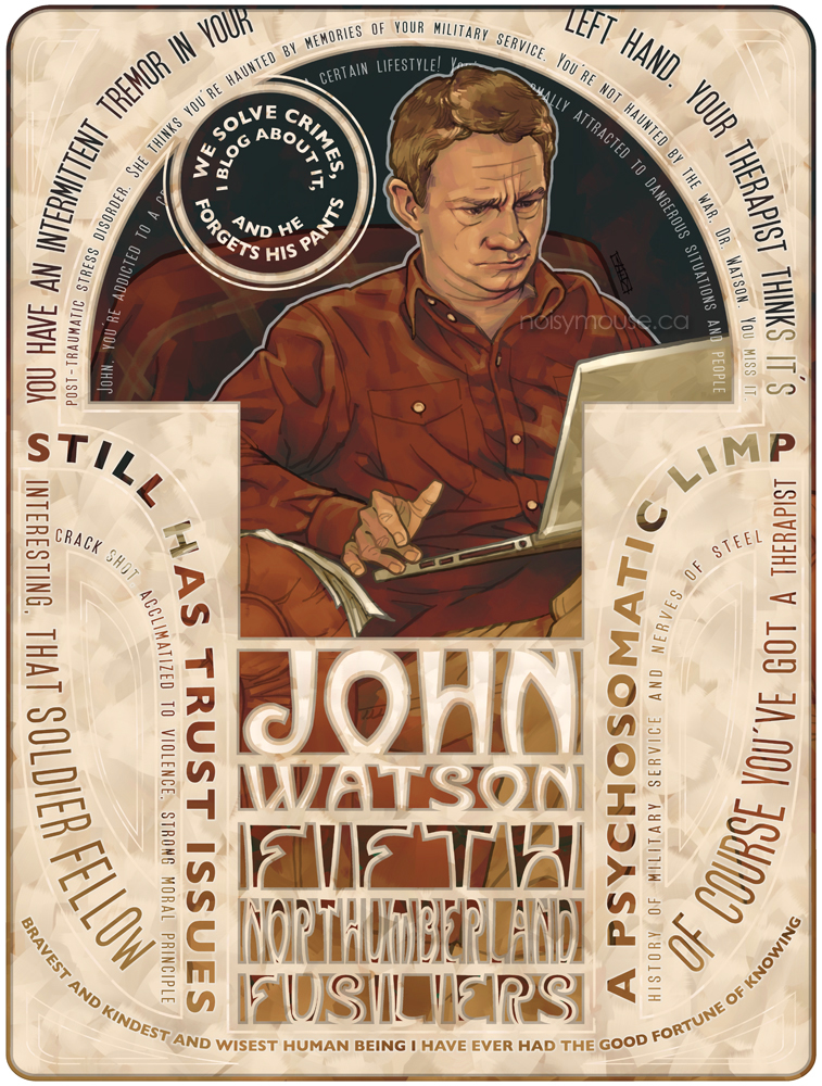 John Watson by littlecrow