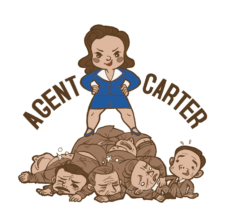 Agent Carter by littlecrow