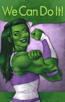 She Hulk - We Can Do It!