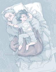 Sherlock and Mycroft doodle
