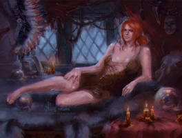 Triss Merigold by AloisMorgan