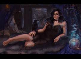 Yennefer by AloisMorgan