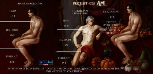 Pricelist (New!) by AloisMorgan