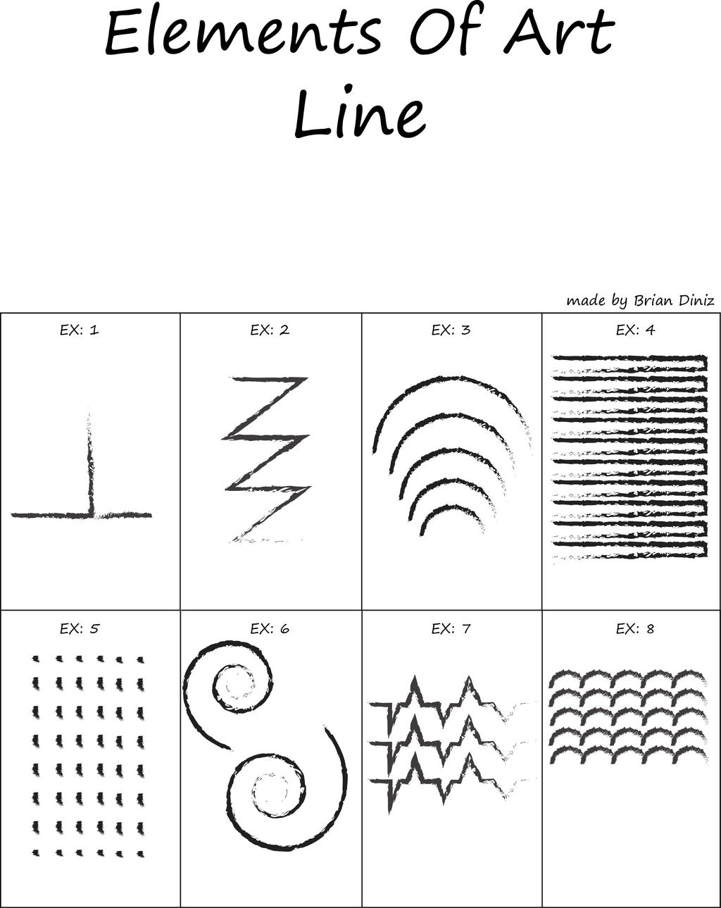 Line Art Element Definition : Elements of art lines by briandnz on deviantart
