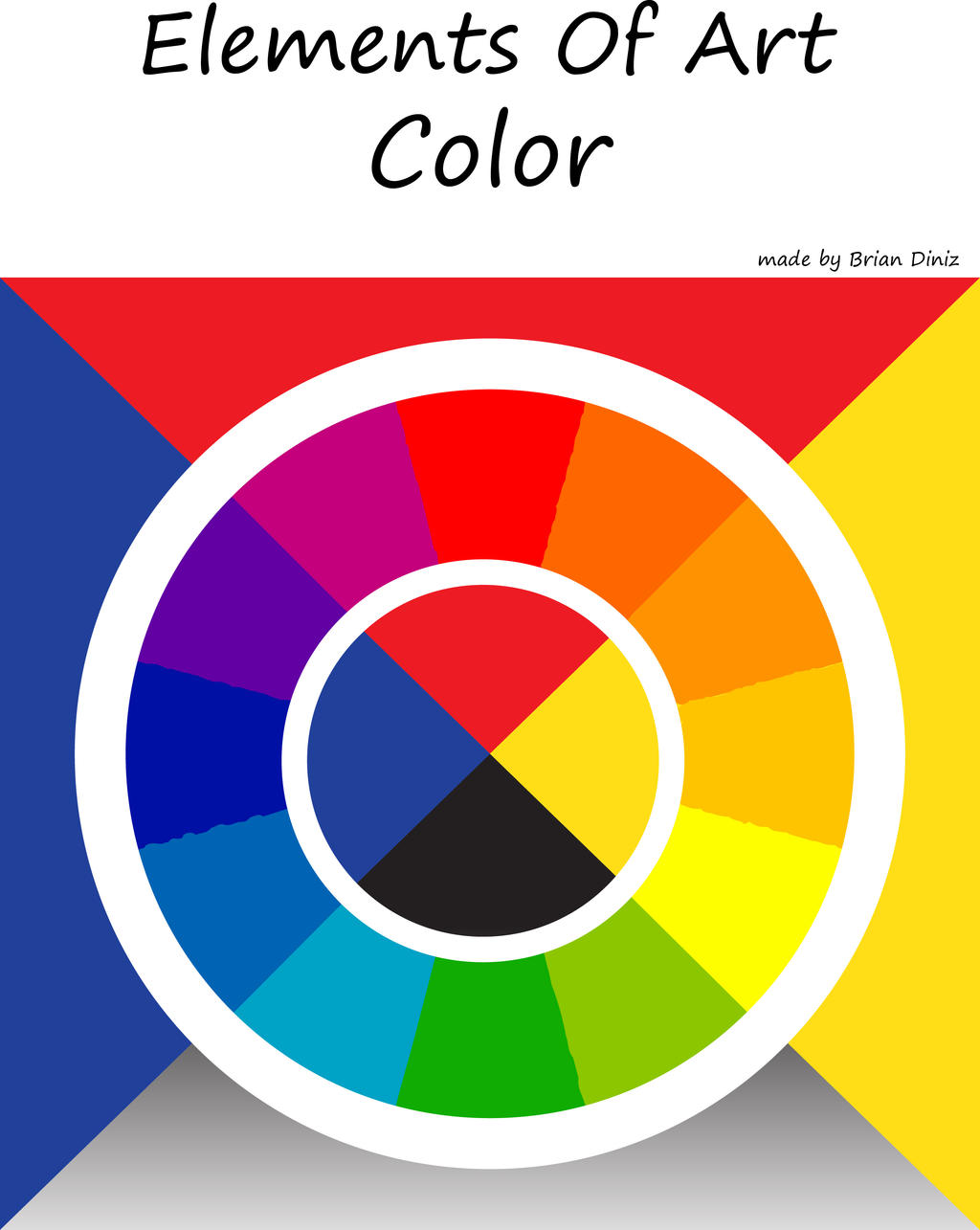 Six Elements Of Art : Elements of art color by briandnz on deviantart