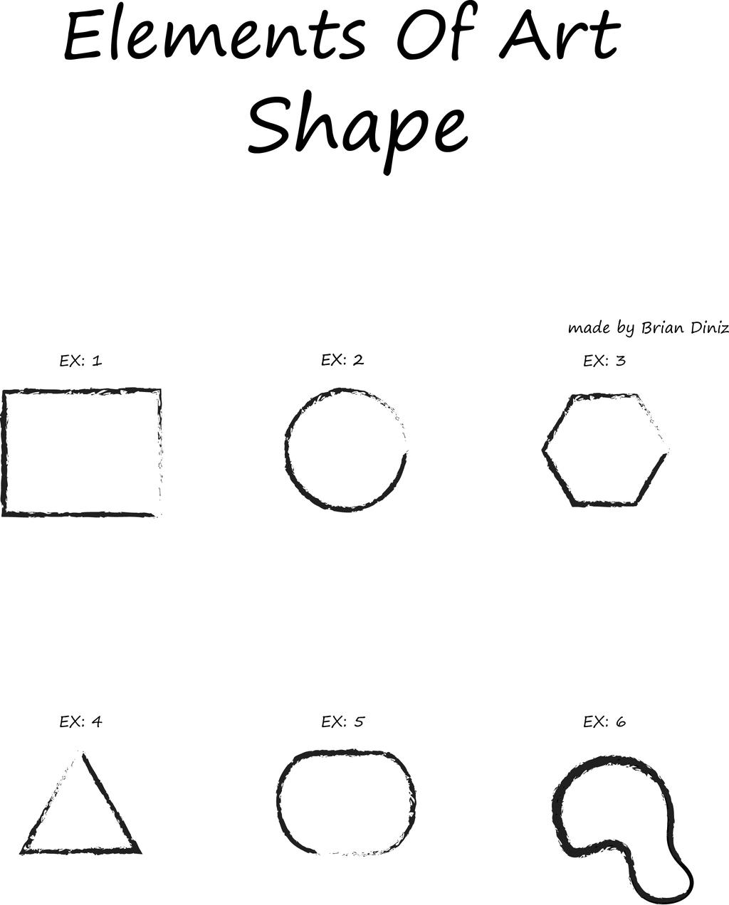 Shape As An Element Of Art : Elements of art shape by briandnz on deviantart