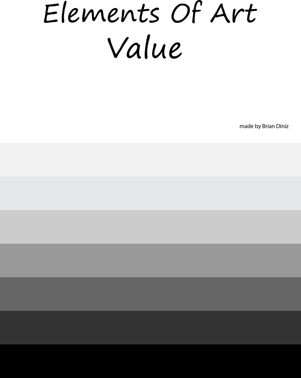 the value of art Value is the lightness or darkness of a color, as it has to do with the addition of white or black and not with the mixing of color sometimes called tone, value is.