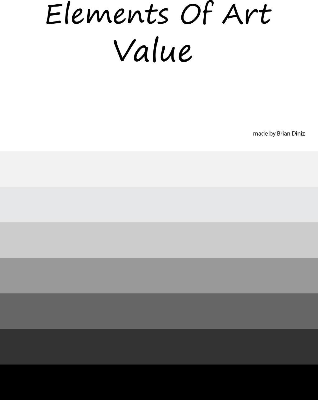 Elements of art Value by briandnz on DeviantArt