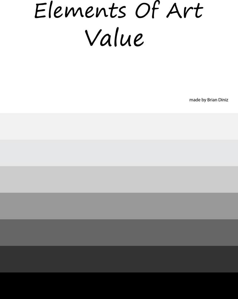 Elements Of Art Value : Elements of art value by briandnz on deviantart