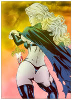 Lady Death Colored by absynthetikk