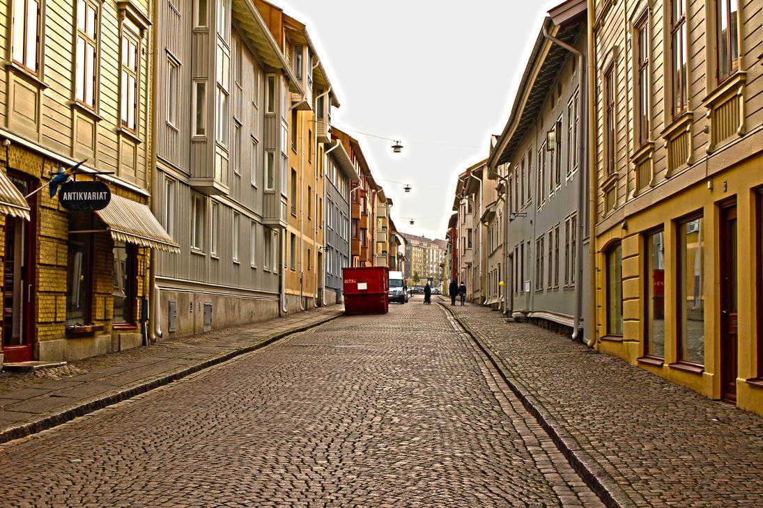 The streets in Haga, Goteborg by ProjektGoteborg