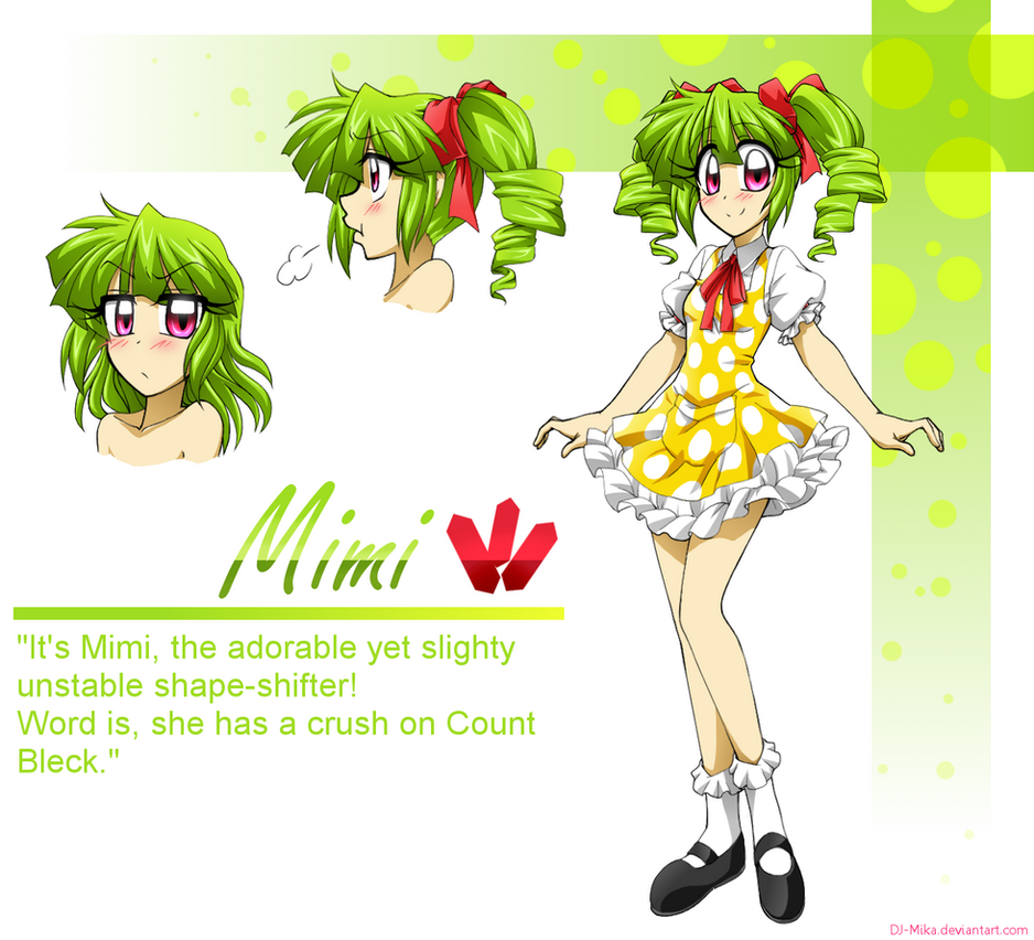 Mimi the Shape-shifter! by DJ-Mika