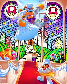 Wedding Crasher! (Mario Wedding Outfits Contest)