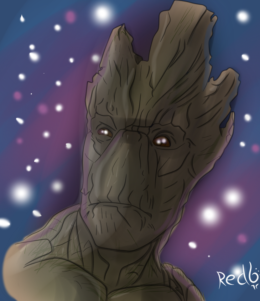 Groot by Redfoxsoul