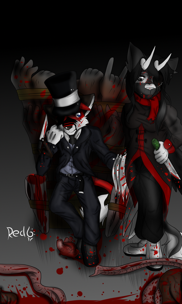 Jack The Ripper by Redfoxsoul