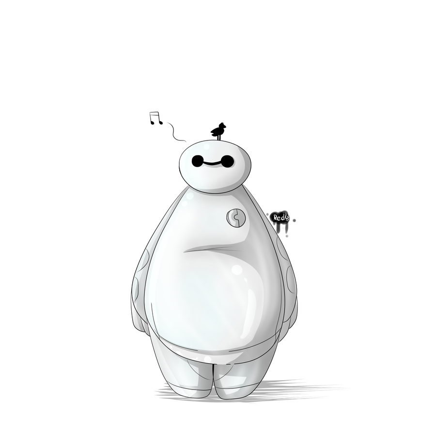 Baymax by Redfoxsoul
