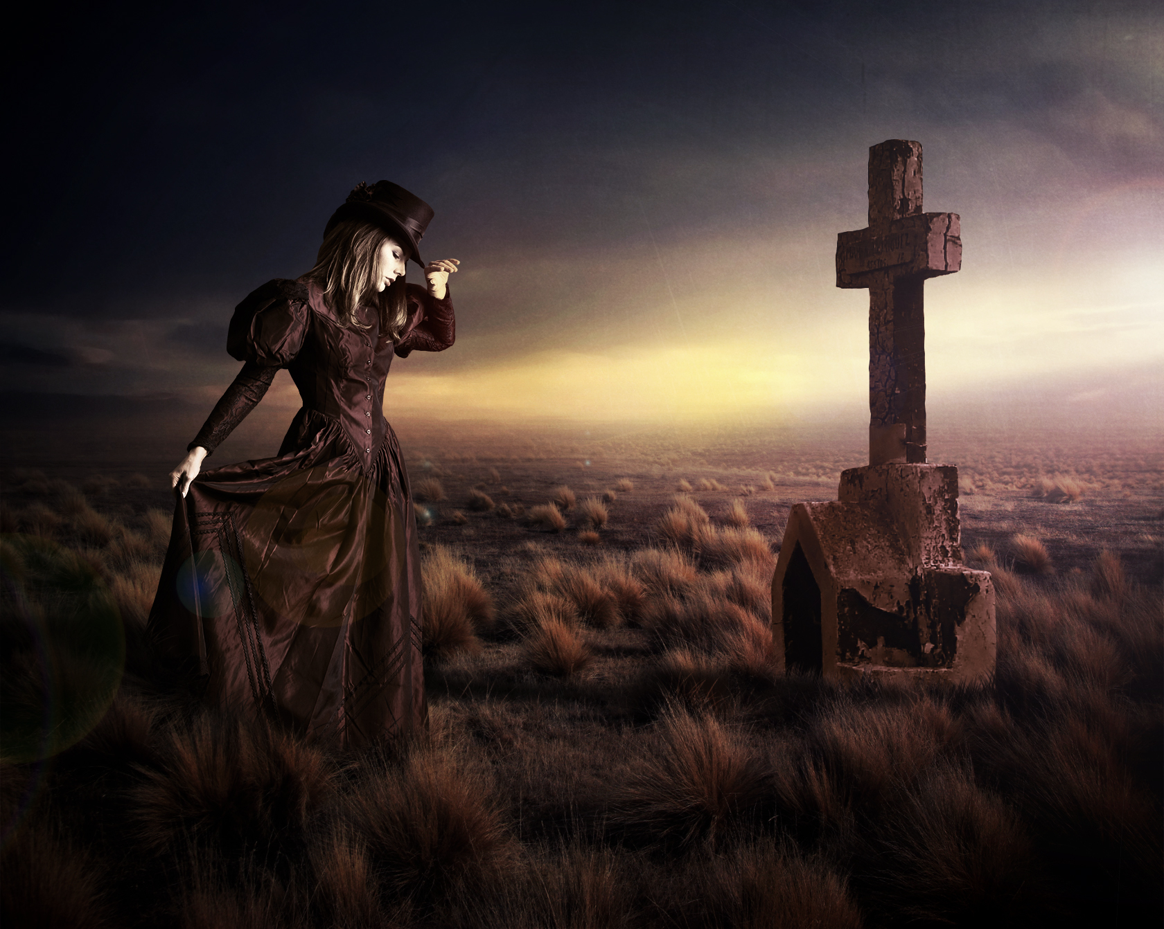 The Vintage Grieving by DomagojTaborski
