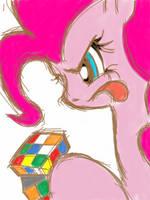 Pinkie's rubiks cube! by khandaniel13