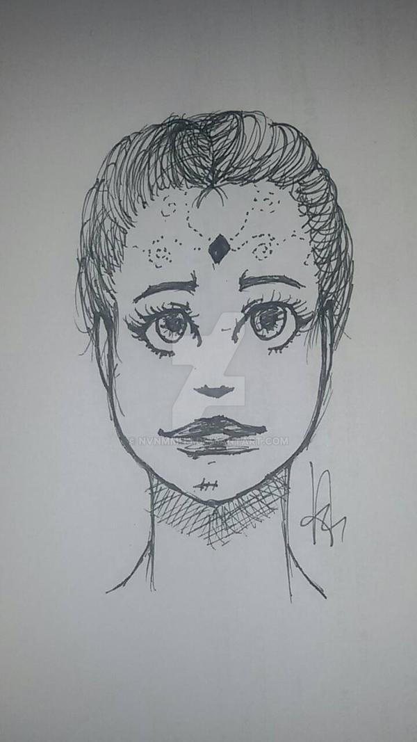 Face 1 by nvnmmhj