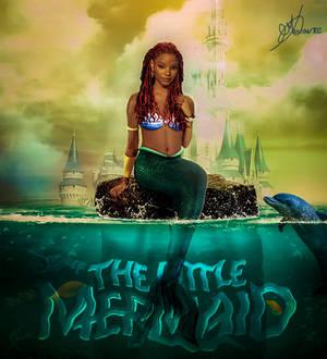 Halle Bailey as Ariel The Little Mermaid
