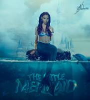 Halle Bailey as Little Mermaid by MarK-RC97