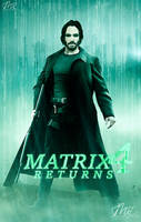 Matrix 4 - Keanu Reeves as Neo. by MarK-RC97