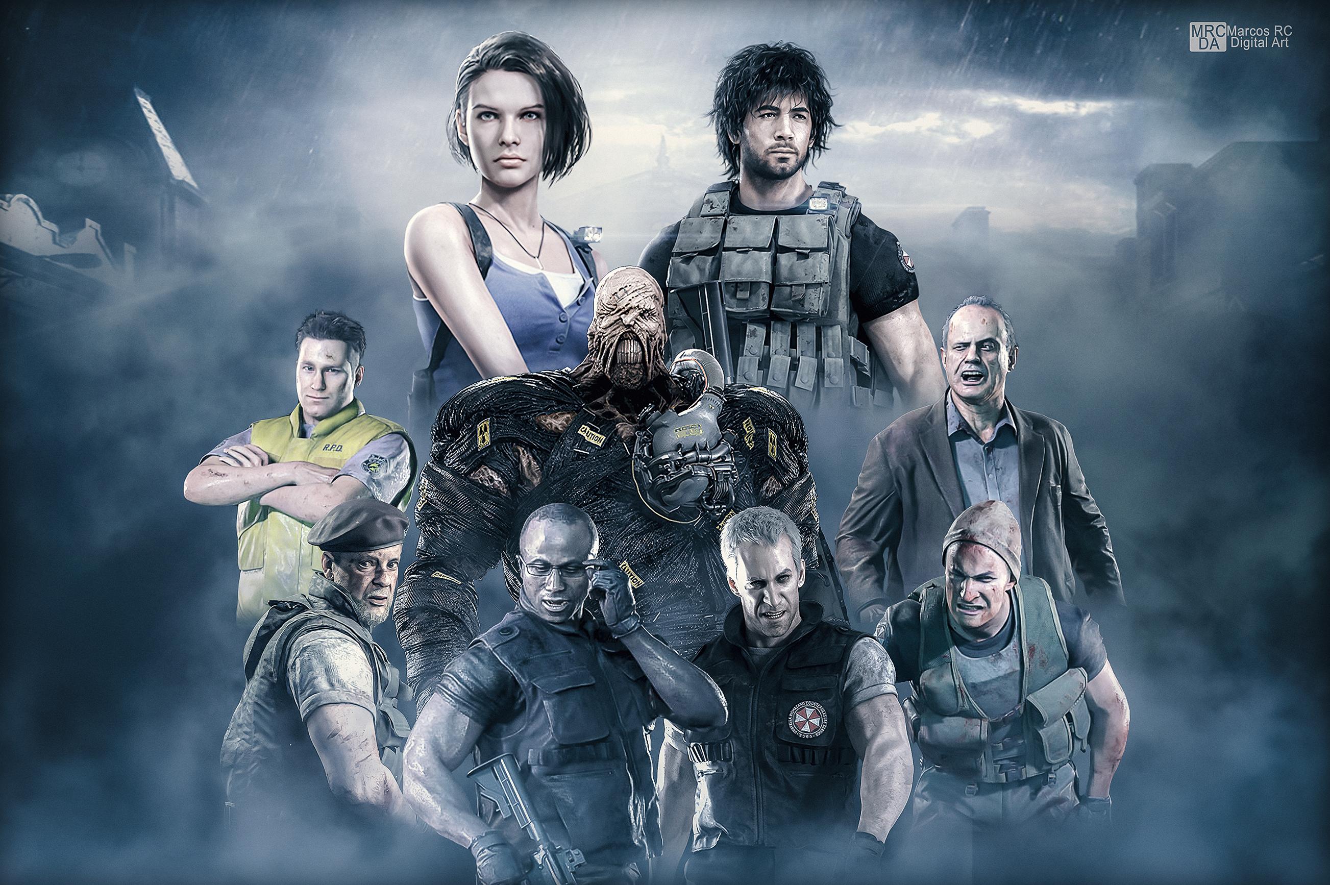 Wallpaper Resident Evil 3 Remake By Mark Rc97 On Deviantart