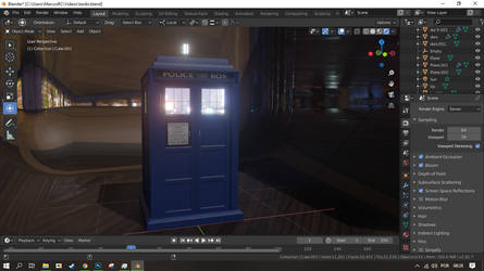 Tardis created by me from scratch