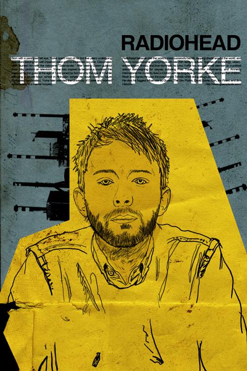 thom yorke by carbalhax