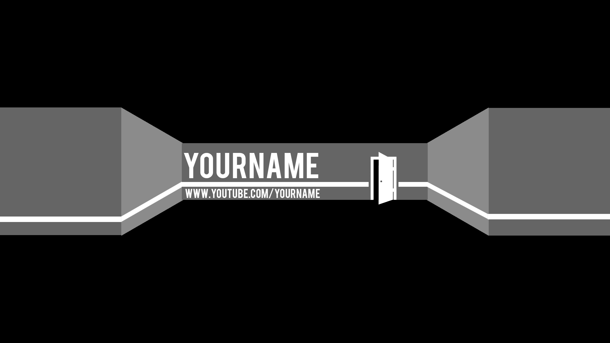 welcome youtube banner template by bulbasuer on deviantart. Black Bedroom Furniture Sets. Home Design Ideas