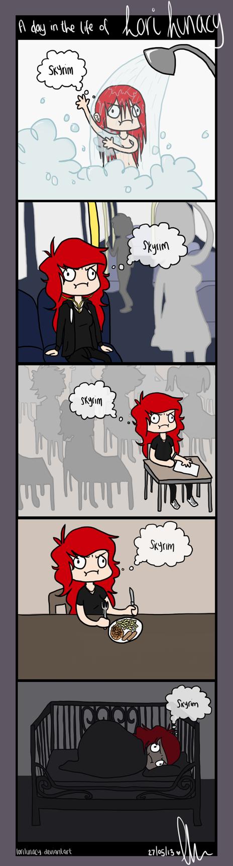 Skyrim = life by loriLUNACY