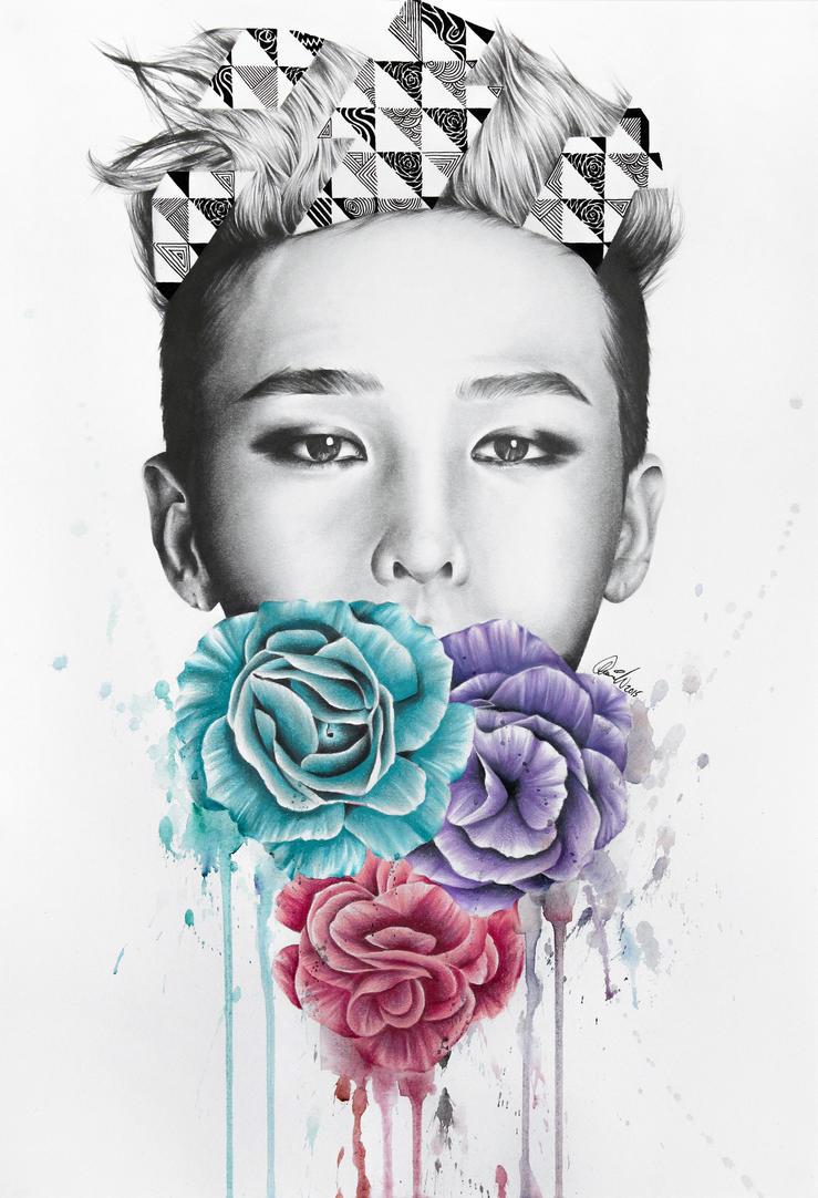 Triad Print - GD by MonicaSutrisna