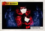 Juliet Landau - Red Queen Comic