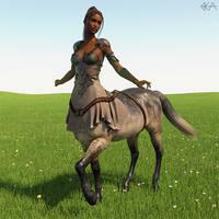 Sunny Female Centaur