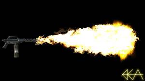 Flamethrower Test