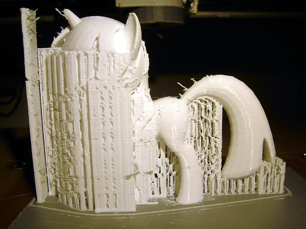 3D printed pony