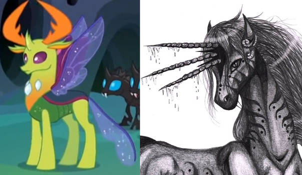 MLP - Thorax the Tricorn