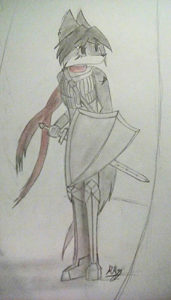 WIP Character by RandomRyven