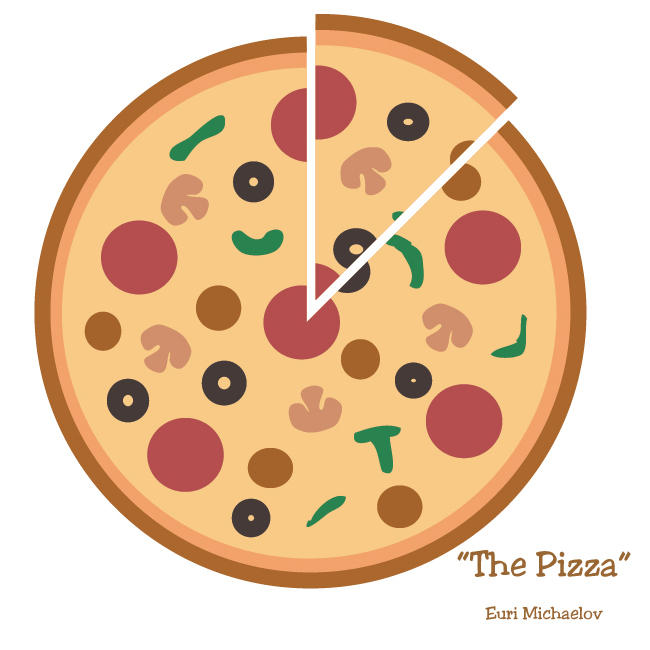 Vector Series: The Pizza by nvrexisted on DeviantArt