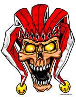 Skull Jester by grfxjams
