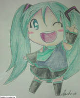Hatsune Miku by MrBubbles24