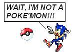 Sonic... A POKEMON by spi3000