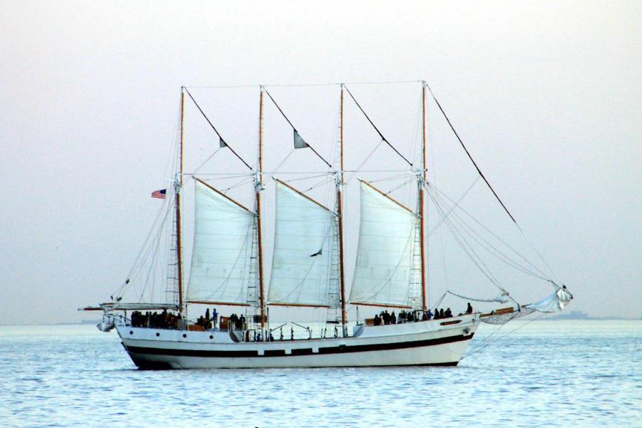 Sailing by amandameadows