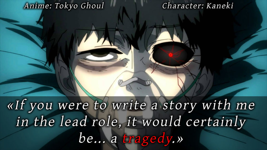 Tokyo Ghoul Quote 1 By Animecitationsquotes On Deviantart