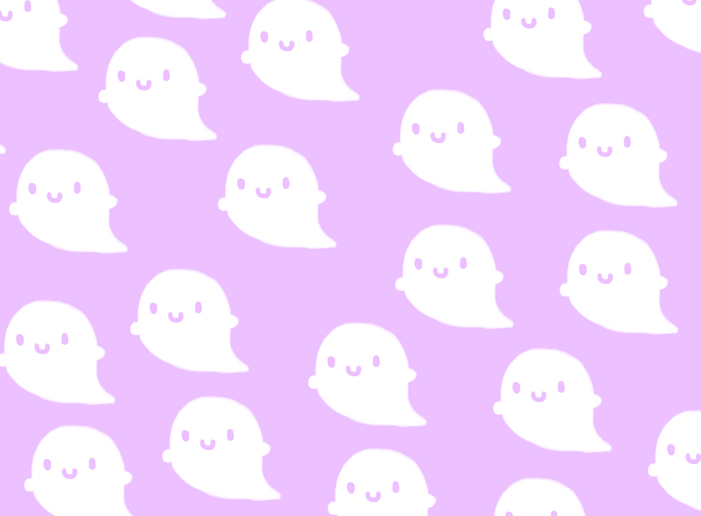 cute ghost background by curlycreeper on deviantart