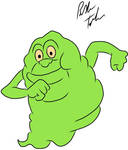 Slimer from Ghostbusters
