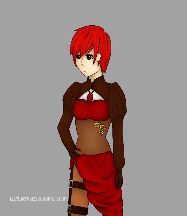 Steampunk-y Girl by IzzyLuvsYou22